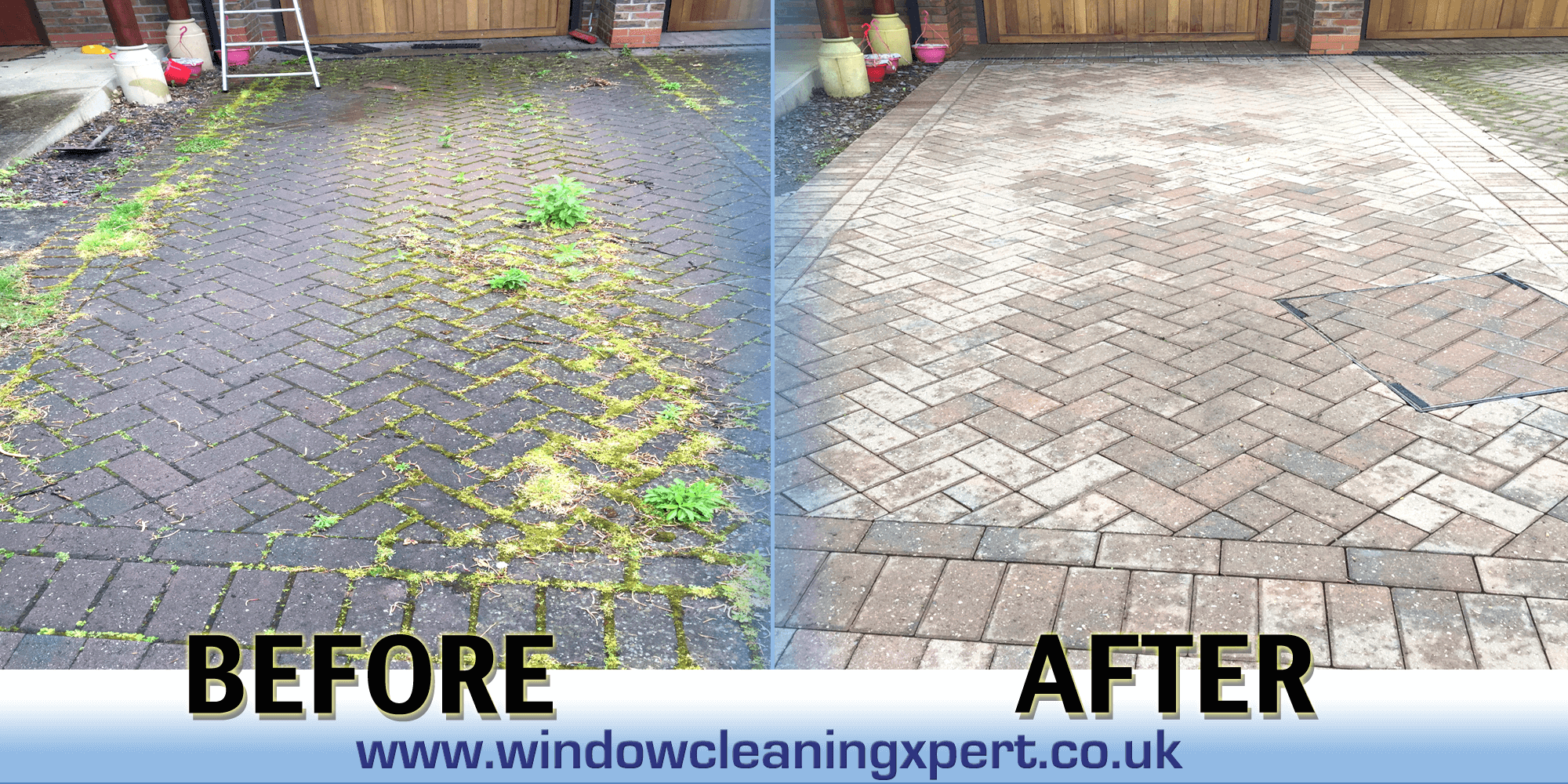 driveway clean leicesteshire