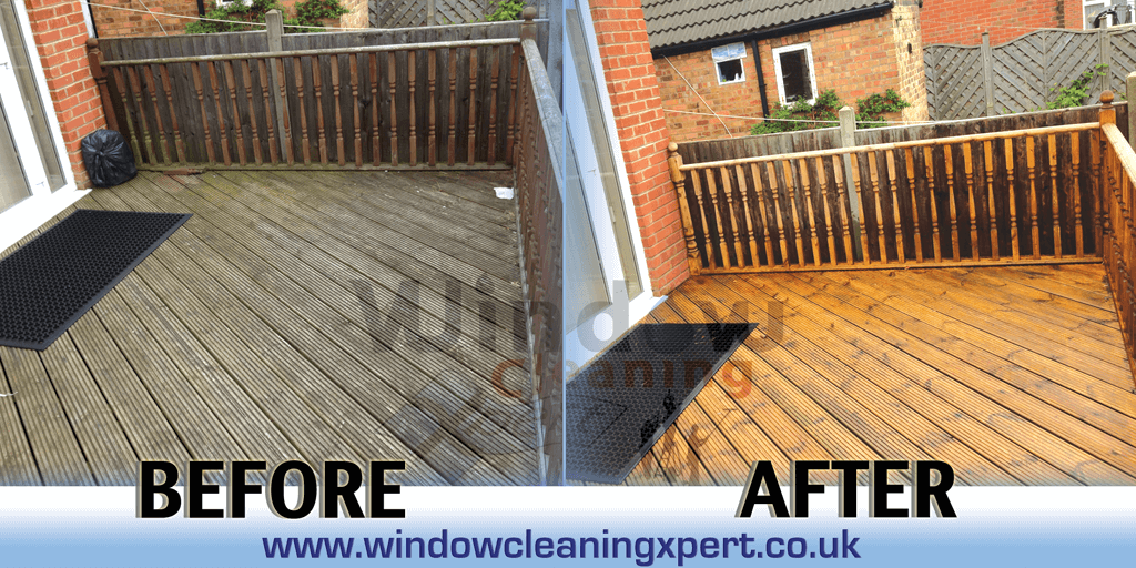 decking cleaning leicester