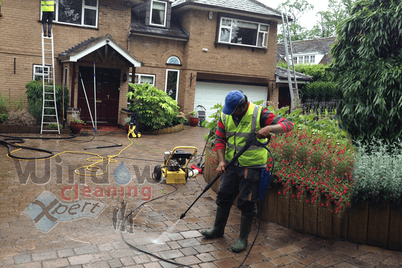 block paving cleaning leicester